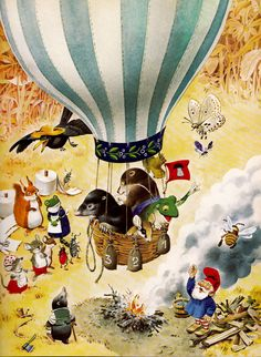 The Woodland Folk Meet the Gnomes