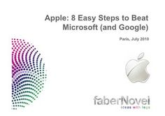 apple-study-8-easy-steps-to-beat-microsoft-and-google by Ouriel Ohayon via Slideshare