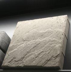 HB-BL 298x298x50mm, pintaprofiloitu - HB Betonin hieno, luonnonkivimäisesti aaltopintainen uutuus.