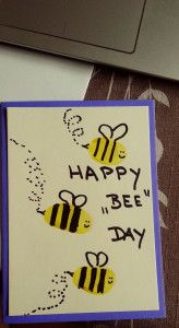WhineMommas | Fingerprint Birthday Card's