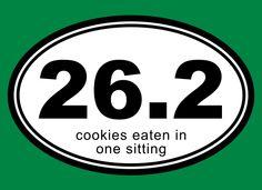 26.2 Cookies Eaten In One Sitting Shirt