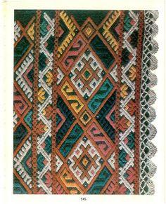 România Tulcea Folk Costume, Costumes, Man Go, Romania, Cross Stitch Embroidery, Bohemian Rug, Ornaments, Rugs, Snake