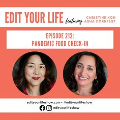 Edit Your Life podcast: Christine and Asha talk simple tips, wins, and fails Minimalist Parenting, Leadership Conference, Happy Mom, Citizenship, Your Life, Have Time, Parenting Hacks, Grief, Self Care
