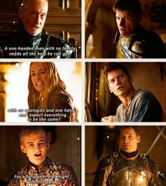 Worst. Family. Ever. ... Never thought I'd say this until season 3, but I'll say it again - poor Jaime.