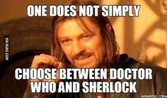 Doctor Who/Sherlock - 9GAG