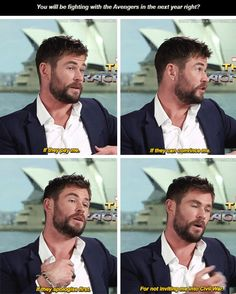 Someone convince Hemsworth.