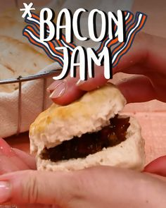 Bacon Jam Bacon Jam Donna Lawrence dmfoxdesigns Stuff to Try Great for cheese boards or slathered on a warm biscuit Bacon nbsp hellip Board videos Jelly Recipes, Bacon Recipes, Jam Recipes, Canning Recipes, Snack Recipes, Bacon Jam, Jam And Jelly, Yummy Food, Tasty