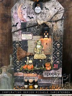 2017 inspiration series: idea-ology halloween… | Tim Holtz