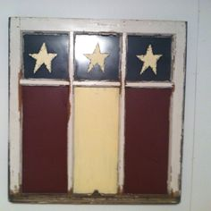 Old painted window