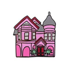 Doll House Pin by Abby Galloway from Valley Cruise Press