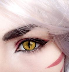 /r/cosplay: for photos, how-tos, tutorials, etc. Cosplayers (Amateur and Professional) and cosplay fans welcome. Anime Eye Makeup, Anime Cosplay Makeup, Costume Makeup, Cosplay Contacts, Inuyasha Cosplay, Anime Make-up, Anime Eyes, Cosplay Make-up, Cosplay Costumes