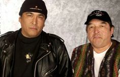 ERIC SCHWEIG AND GRAHAM GREENE- Two of my favorite -Inuvit and First Nation actors. I loved Skins
