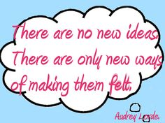 There are no new ideas! Take note peeps in biz - it's about your stamp on ideas that makes them different.