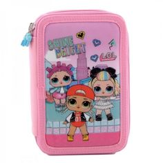 Penar 3 Fermoare LOL - BrandToys.ro Lunch Box, Toys, Activity Toys, Clearance Toys, Bento Box, Gaming, Games, Toy, Beanie Boos