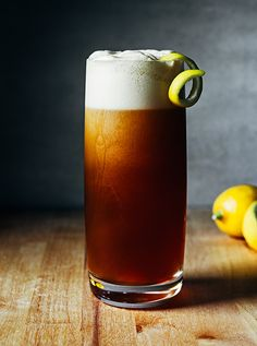 "Southern 75 includes both bourbon and beer, one of the many ""beertails"" popping up on drink menus across the South."
