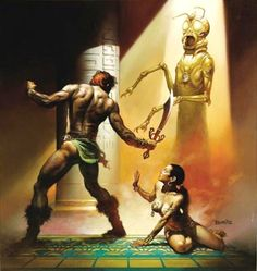 The Chronicles of Counter Earth / 3 / Priest Kings of Gor (Boris Vallejo)