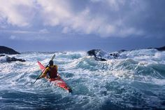 rough water?  garyluhm.net | Gary Luhm Photography celebrates the natural world, with a sea kayak.specialty.