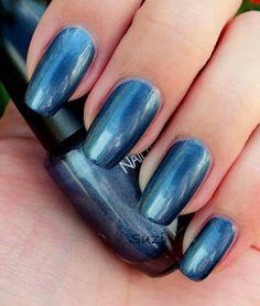 PUPA Magnetic Nail Polish, 33 Magnetic Blue