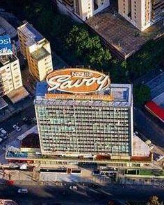 Colinas de Bello Monte, y su ícono de los Chocolates Savoy Caracas, Venezuela