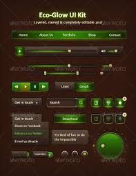 Image result for game UI green