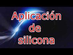 Aplicaccion de silicona en linterna - YouTube