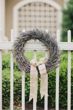 Georgia Wedding with an International Love Story « Gorgeous Lavender wreath