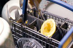 Frischer Geruch im Geschirrspüler #easy #lemon #smell #dishwasher #lifehack #household #fast #dontwaste #trick