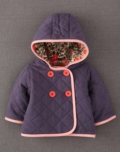 Quilted jacket- mini Boden
