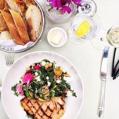 Our West Hollywood Salad tastes even better than it looks! #regram from @pumpsandplaid #DCmoments #pololounge #beverlyhillshotel