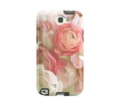 Flower Samsung Galaxy Note 2 case pretty by semisweetstudios