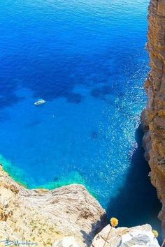 The Big Blue of Amorgos island ~ Greece Beautiful Islands, Beautiful World, Beautiful Places, Places In Greece, Paradise On Earth, Greece Islands, Am Meer, Greece Travel, Land Scape