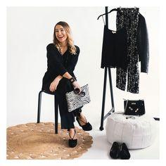 "Pochette ""Style"" zébrée, Collection Peaux Luxury Polyvore, Collection, Style, Fashion, Pom Poms, Leather Tassel, Black Leather, Cow Hide, Bicolor Cat"