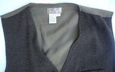 Territory Ahead Men's Vest 5 Button Wool Blend Chenille Loden Green Medium M #TerritoryAhead