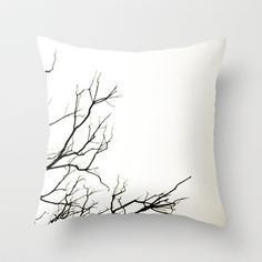 Winter Throw Pillow by Skye Zambrana - $20.00