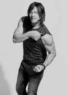 Norman Reedus photographed by Ben Watts for Men's Fitness 2016