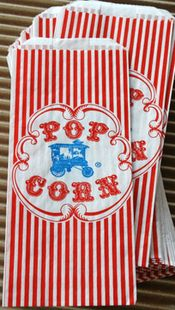Using Popcorn Bags Instead of Envelopes for Invitations  $17.99 For a 100