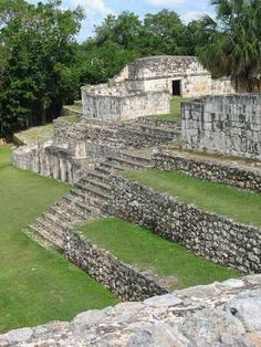 Kabah Mayan archaeological site in Ruta Puuc, Yucatan (Mexico)