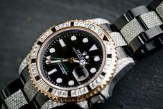Black Rolex, Diamond Ice, Rolex Gmt Master, Rolex Watches, Label, Accessories