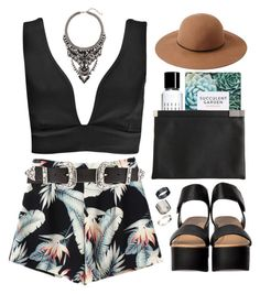 """#879"" by maartinavg ❤ liked on Polyvore featuring Boohoo, B-Low the Belt, Forever 21, Just Acces, Bobbi Brown Cosmetics, Cristabelle and Maison Margiela"