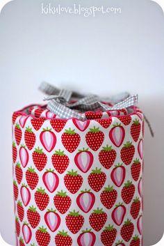 strawberries crib bumper