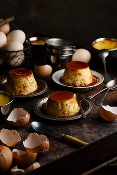 Flan de huevo by Raquel Carmona