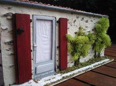Diorama, Facade, Miniatures, Outdoor Structures, Plants, Boutiques, Gardens, Fimo, Puertas