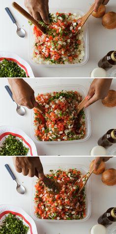Dia 166, vinagrete é um prato que combina com tudo.