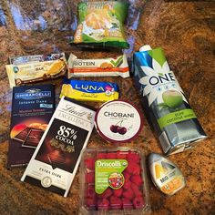 """Mini food haul! Just got a few """"essentials"""" but actually really just treats lol☺️ I've kind of started eating some dairy again like Greek yogurt and chocolate but that's pretty much it otherwise it's almond/coconut products!"""