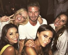 Spice Girls Reunite For David Beckhams 40th Birthday Party In Morocco