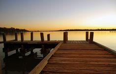 White Rock Lake pier