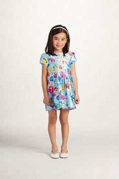 Oscar de la Renta Floral Short Sleeve Dress - Main Image