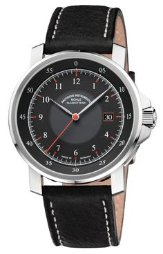 Muhle Glashutte Watch M 29 Classic #bezel-fixed #bracelet-strap-leather #brand-muhle-glashutte #case-depth-11-3mm #case-material-steel #case-width-42-4mm #date-yes #delivery-timescale-4-7-days #dial-colour-black #gender-mens #luxury #movement-automatic #nstyle-dress #official-stockist-for-muhle-glashutte-watches #packaging-muhle-glashutte-watch-packaging #subcat-m-29-classic #supplier-model-no-m1-25-53-lb #warranty-muhle-glashutte-official-2-year-guarantee #water-resistant-100m