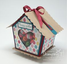 Stampin' Up! Stamping T! - Sweet Bird House Side