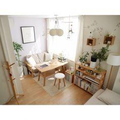 ponsukeさんの、ソファ,フェイクグリーン,観葉植物,シンプル,北欧,カフェ風,一人暮らし,ワンルーム,無印良品,ナチュラル,リビング,のお部屋写真